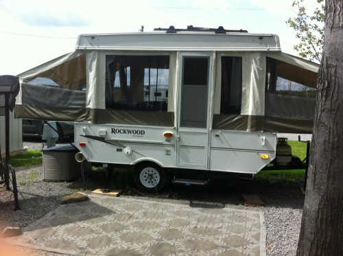 Tente Roulotte Rockwood Freedom 19 Pieds 2009 Vr 224